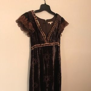 Vintage Nanette Lepore Velvet dress